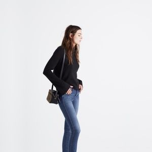 Madewell bell sleeved turtleneck sweater